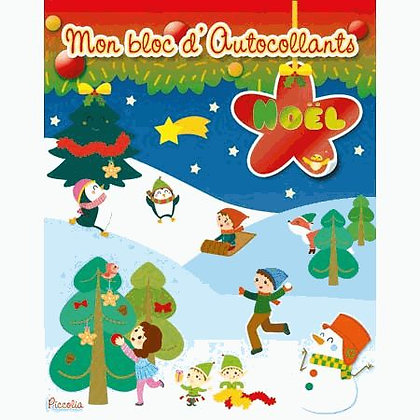 Mon Bloc D'autocollants Noël -  Angela Sbandelli