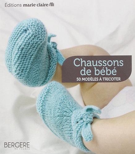Chaussons De Bébé - 50 Modèles À Tricoter Charlotte Rion