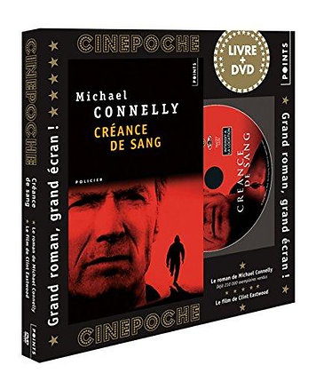 Coffret livre + DVD Cinépoche - Créance De Sang - Michael Connelly