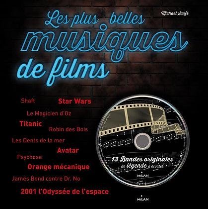 Les Plus Belles Musiques De Films - (1cd Audio) - Michael Swift