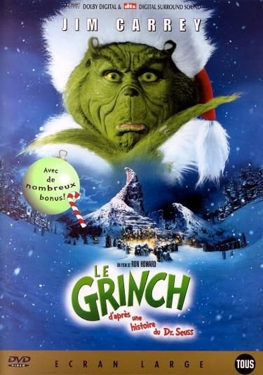Le Grinch  - avec Jim Carrey de Ron Howard - DVD d'occasion