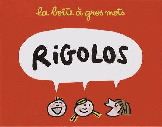 La Boîte À Gros Mots Rigolos - Avec 33 Noms Farfelus Et 33 Compléments Marrants