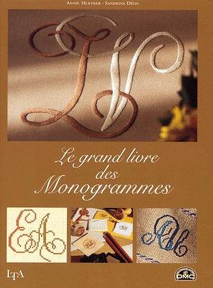 Livre Broderies - Le Grand Livre Des Monogrammes- Hurtrer Annic - Buchet-Chastel