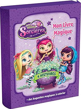 Mon Livre Magique Les Minis Sorcières - Coffret Avec 4 Histoires Enchantées