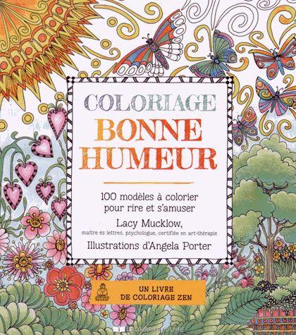 Coloriage Bonne Humeur - 100 Modèles À Colorier Pour Rire Et S'amuser