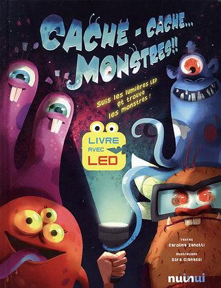 Cache-Cache - Monstres !! - Suis Les Lumières Led Et Trouve Les Monstres !