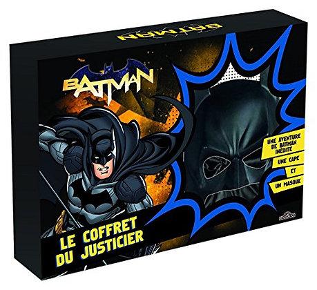 Batman, Le Coffret Du Justicier  :  Le Masque De Batman, La Cape Et Un livre