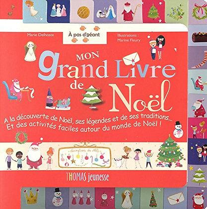 Mon Grand Livre De Noël  - Marie Delhoste