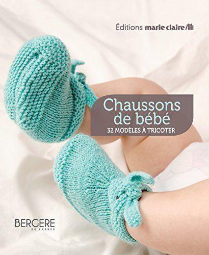 Coffret Chaussons De Bébé - 32 Modèles À Tricoter-Bergère de France-MARIE-CLAIRE