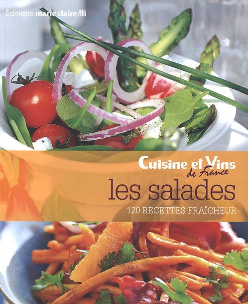 Les salades : 120 recettes fraîcheur -