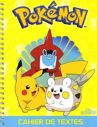 Pokémon - Cahier de textes Reliure à spirales – 7 juin 2018