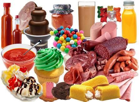 Presque tous nos aliments contiennent des additifs