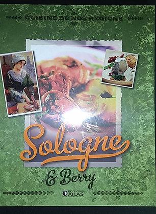 Livre cuisine et vins - Cuisine de nos régions - Sologne et Berry