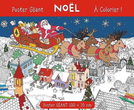 Spécial Noël - Poster Géant Noël À Colorier - Anton