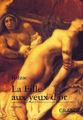 La Fille Aux Yeux D'or  - Honoré De Balzac