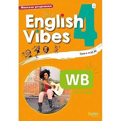 English Vibes  - 4ème workbook Broché – 25 août 2017