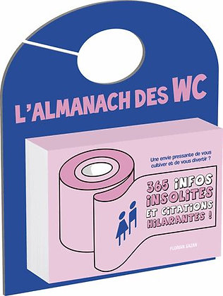 L'almanach Des Wc Florian Gazan