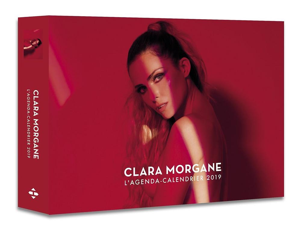 Coffret agenda - Calendrier 2019 Clara Morgane