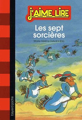 Les Sept Sorcières - Marie-Hélène Delval