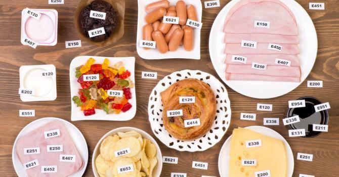 Nos aliments contiennent des additifs