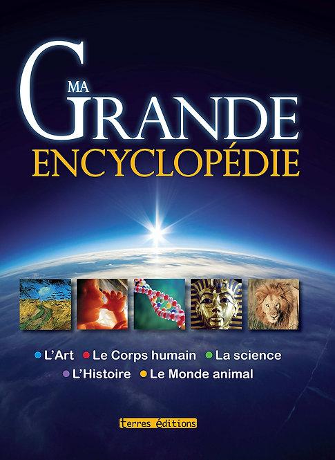 Ma Grande Encyclopédie - Géographie, Animaux, Histoire, Art, Science ...........