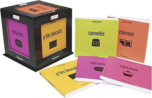 Eat-Cube - Coffret 5 Volumes : Le Chocolat Dans Tous Ses États - Des Macarons Po