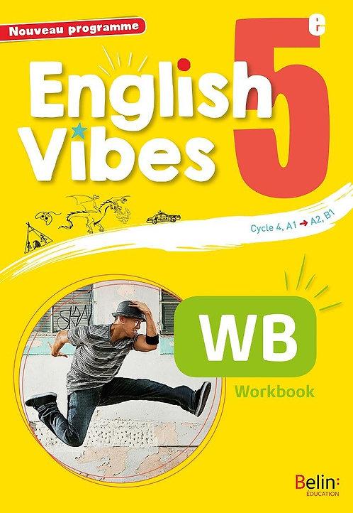 English Vibes 5ème workbook Broché – 27 août 2017