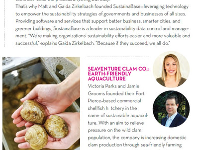 Social Entrepreneurship: Seaventure Clam Co.