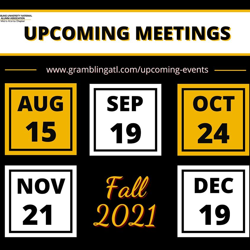 Upcoming General Meetings