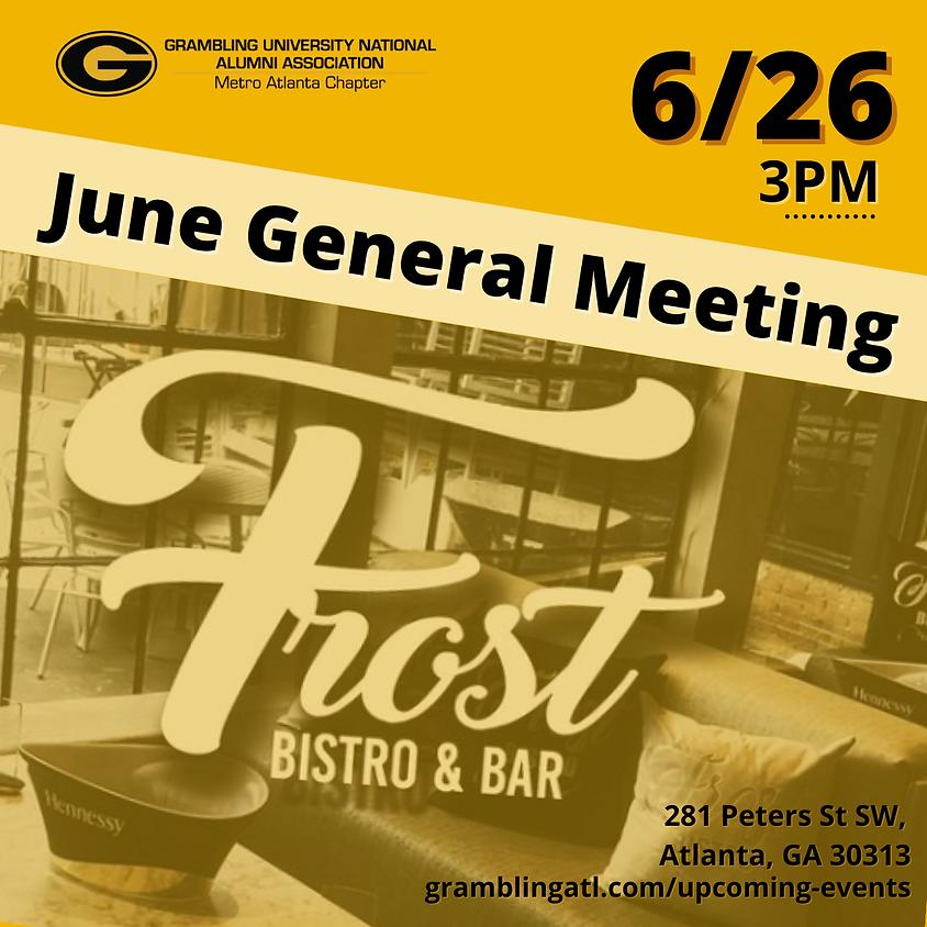 June General Meeting