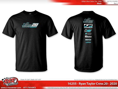 2020 Black Crew Shirt
