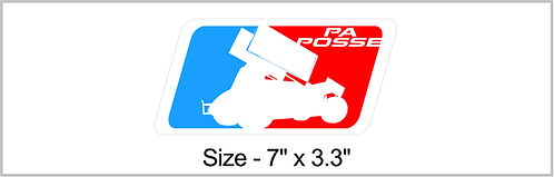 PA Posse MLB Sticker