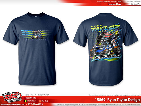 2020 Heathered Navy T-Shirt