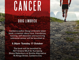 BOOK LAUNCH – Running the Marathon with Cancer