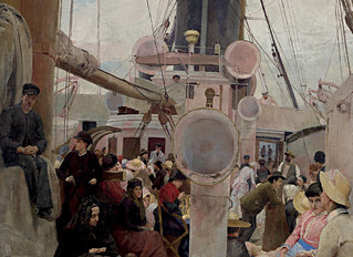 TOM ROBERTS PAINTING: COMING SOUTH