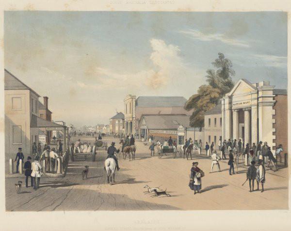 Hindley Street Adelaide 1847