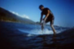 Wellenreiten Longboard Maui - Hawaii