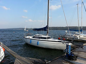 Unser Boot die SY-Maui, Werft Comar It, Cometino 701
