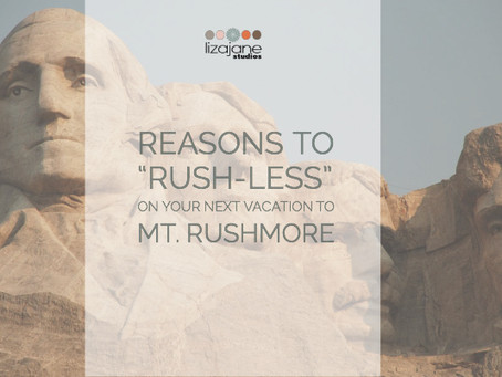 """Travel Tip: Why I chose to """"Rush-Less"""" at Mt. Rushmore"""