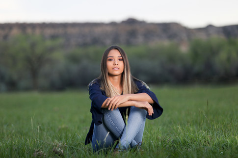 senior girl photograph