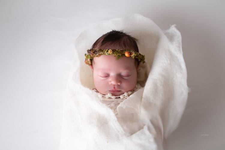 classic newborn photo