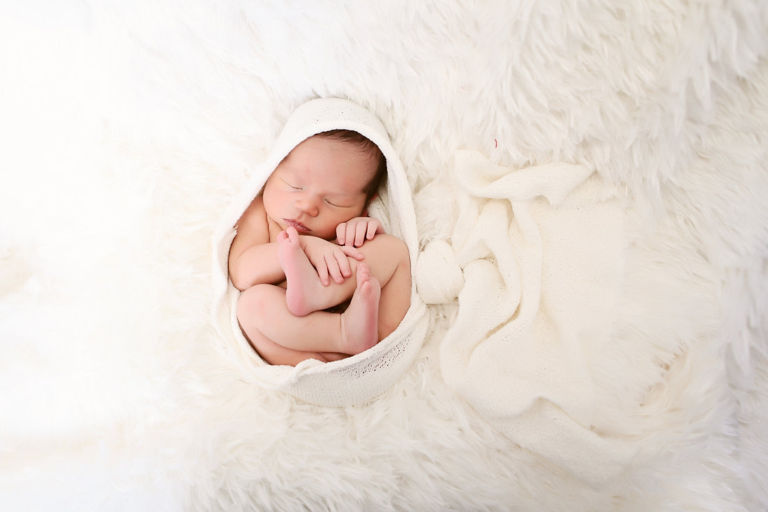 photo of beautiful newborn