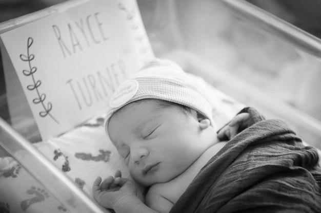 Hospital newborn photography