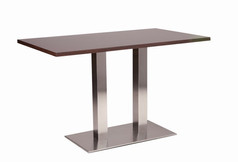 Danilo twin dining base with wenge top