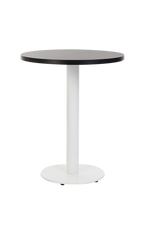 Forza Round White with black round top