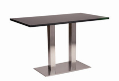 Danilo twin dining base with black top