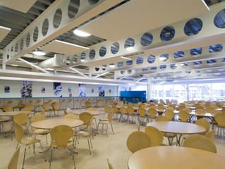 A sound solution for school dining rooms