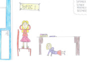 A child's insight into what noise looks and feels like in school