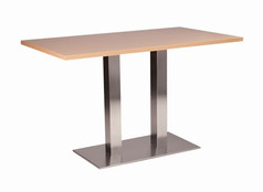 Danilo twin dining base with beech top