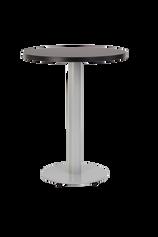 Forza Round Grey with black round top
